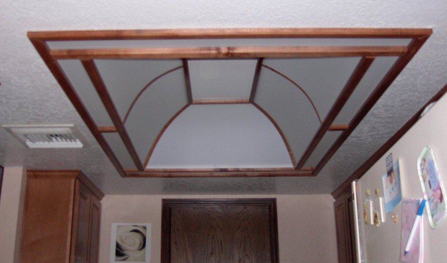 Arizona Dome Remodel - Kitchen dome ceiling